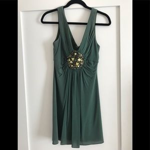 BCBG Cocktail Dress w/ bead detail!
